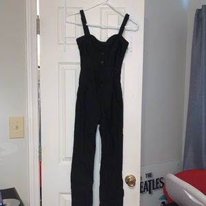 Urban Outfitters Black Jumpsuit